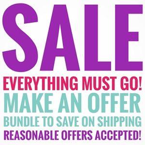SALE! Make an offer!